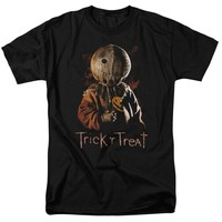 Trick or Treat horror movie Halloween scary funny adult t-shirt