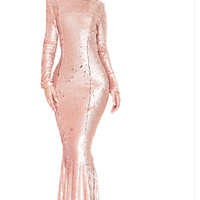 Marcy Sequin Luxury Dress