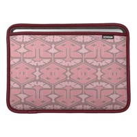 Art Deco Flair - All in Pink Sleeve For MacBook Air