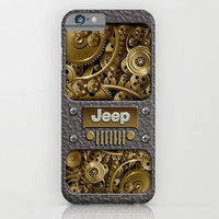 Steampunk Jeep with Gear machines iPhone & iPod Case by Greenlight8