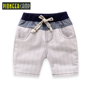 Pioneer Camp Kids 2017 New Arrival Cotton Summer Baby Boys Children Shorts Casual Shorts Girls Boys Short pants 2-8 Years Kids
