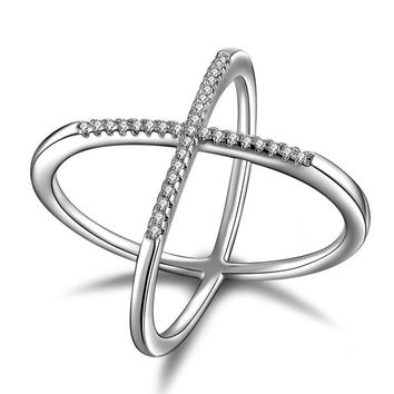 Ex Rings - silver color