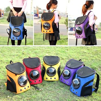 Cat-carrying Space Capsule Backpack