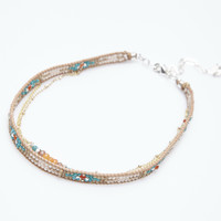 Southwestern Beaded Layered Choker