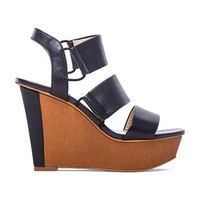 Vince Camuto Niskera Wedge in Blue