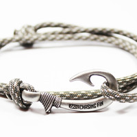 Digital Camo Fish Hook Bracelet (New)