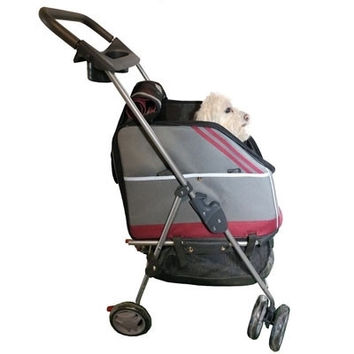 All-In-One Dog Stroller Carrier and Car-Seat