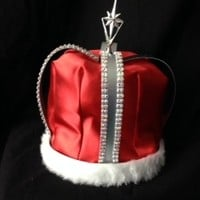 Rhinestone King Crown