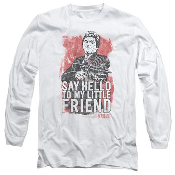 Scarface - Little Friend Long Sleeve Adult 18/1