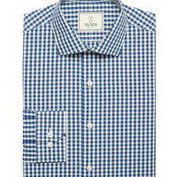 Rockaway Multi Color Gingham Dress Shirt In Blueberry
