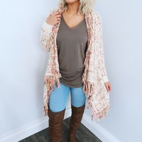 In My Feelings Cardigan: Multi