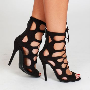 Making The Cut Out Heels