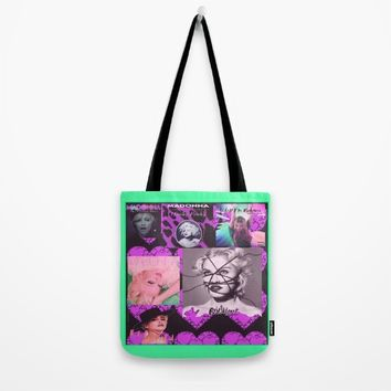 madonnaciccone Tote Bag by Kathead Tarot