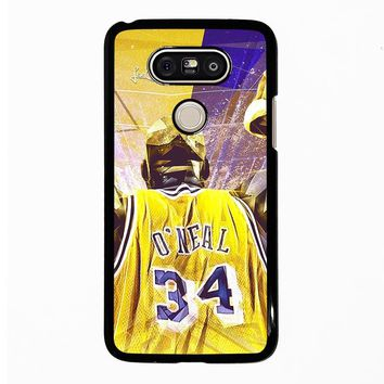SHAQUILLE O'NEAL LA LAKERS LG G5 Case Cover