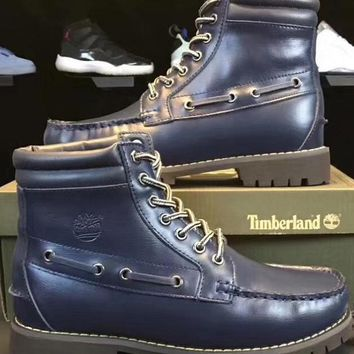 Timberland With velvet Wool warming Men's Shoes