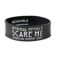 American Horror Story Normal People Rubber Bracelet