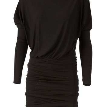 Alexandre Vauthier ruched mini dress