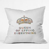 Bianca Green Her Daily Motivation Throw Pillow