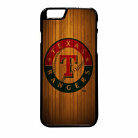 Texas Rangers Wood Pattern iPhone 6 Plus Case