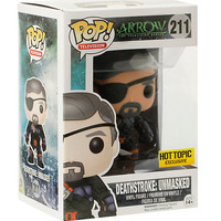 Funko DC Comics Pop! Arrow Deathstroke: Unmasked Vinyl Figure Hot Topic Exclusive