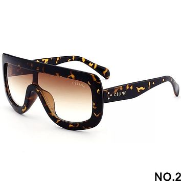 CELINE 2018 new men and women fashion trend high quality sunglasses F-8090-YJ NO.2