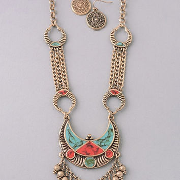 Coastal Statement Necklace