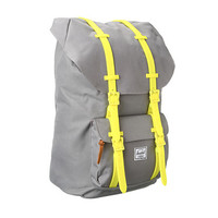 Herschel Little America Weather Pack Grey/Neon Yellow Rubber - Zappos.com Free Shipping BOTH Ways