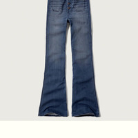A&F Flare Jeans
