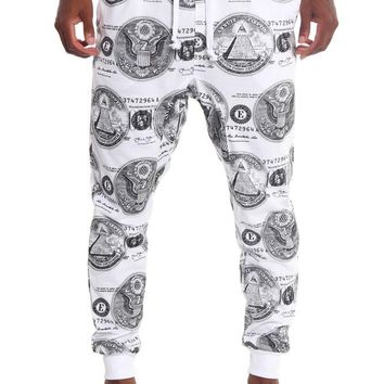 All About the Money French Terry Jogger Pants JG720 - F14G