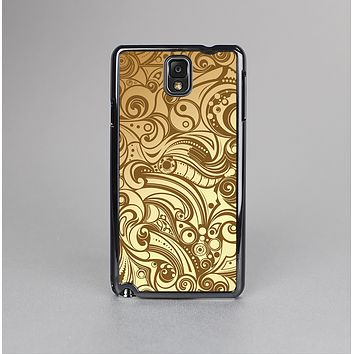 The Vintage Antique Gold Vector Pattern Skin-Sert Case for the Samsung Galaxy Note 3