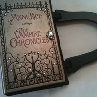 Anne Rice Vampire Chronicles Book Purse with Wooden Handle
