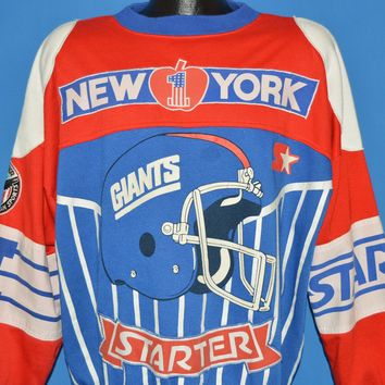 90s New York Giants Football Sweatshirt Large
