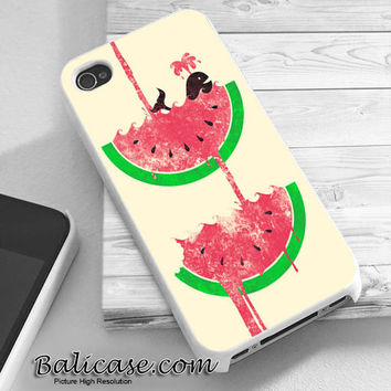whale watermelon iphone 4/4s/5/5c/5s case, whale watermelon samsung galaxy s3/s4/s5, whale watermelon samsung galaxy s3 mini/s4 mini, whale watermelon samsung galaxy note 2/3