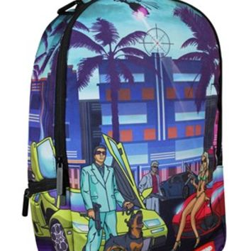 Sprayground The 305 Lost In Paradise Backpack - Buy Online at Grindstore.com