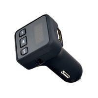 Wireless In-Car Bluetooth FM Transmitter Radio Adapter Car Kit with LED Screen USB Car Charger - Walmart.com