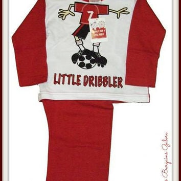 Boys Little Dribbler Pyjamas