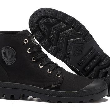 Palladium Pampa Hi Originale Tx Men High Boots All Black - Beauty Ticks