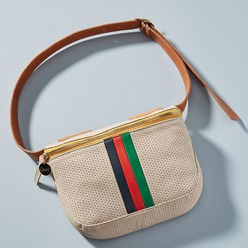 Clare V. Striped Canvas Waist Pack