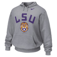 Nike College Expanded Local (LSU) Men's Hoodie Size XXL (Grey)