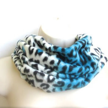 Cheetah scarf- Neck Warmers -Women's scarf-Unisex neck warmer-Men's scarf-Unisex