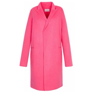 Sandro Mathea Long Wool Coat at Sandro US