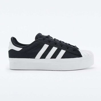 Adidas Superstar Rize Black Trainers - Urban Outfitters
