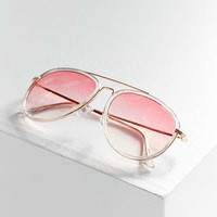 Gradient Aviator Sunglasses | Urban Outfitters