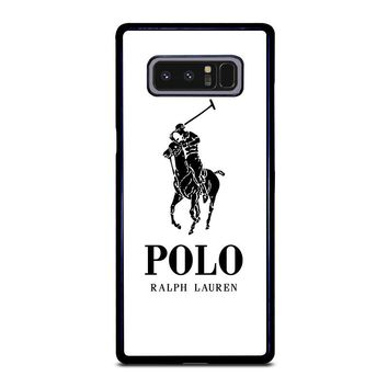 LOGO POLO RALPH LAUREN Samsung Galaxy Note 8 Case Cover