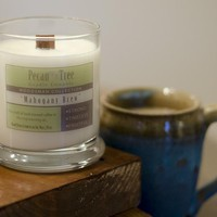 Mahogany Brew Soy Candle from Pecan Tree Candle Company