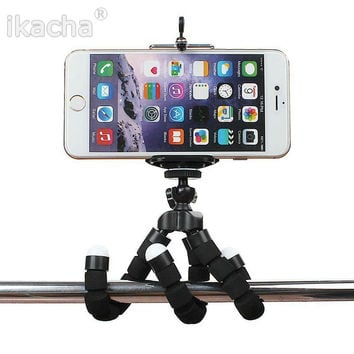 Car Phone Holder Flexible Octopus Tripod Bracket Selfie Stand Mount Monopod Styling Accessories For Mobile Phone Samsung Camera