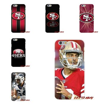 For Motorola Moto G LG Spirit G2 G3 Mini G4 G5 K4 K7 K8 K10 V10 V20 San Francisco 49ers USA Sprot Logo Soft Phone Case Silicone