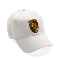 "Club Foreign Logo Hat ""Black Horse"" White"