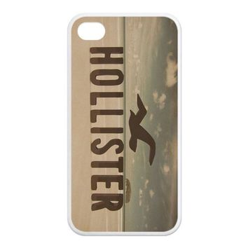 American Youth Loved Brands Hollister Protective Waterproof Rubber(TPU) Apple iPhone 4 4s Case Cover,Top iPhone 4 4s Case from Good luck to