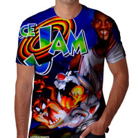 Space Jam SpaceJam Tee Shirt Fan Art All Over Print Style Shirt
